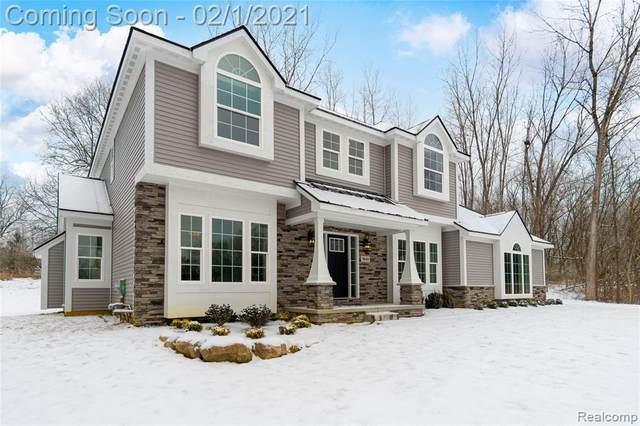 1840 Teakwood Drive, White Lake Twp, MI 48383 (#2210005800) :: The Alex Nugent Team   Real Estate One