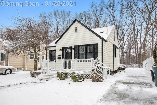 1229 N Alexander Avenue, Royal Oak, MI 48067 (#2210005889) :: The Alex Nugent Team   Real Estate One