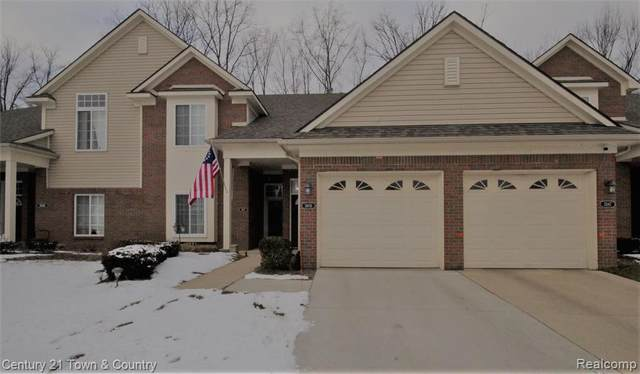 3605 Eagle Creek Drive, Shelby Twp, MI 48317 (#2210006309) :: The Merrie Johnson Team