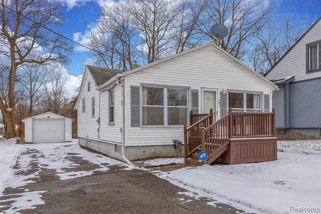 181 Harrison St, Pontiac, MI 48341 (#2210006696) :: BestMichiganHouses.com