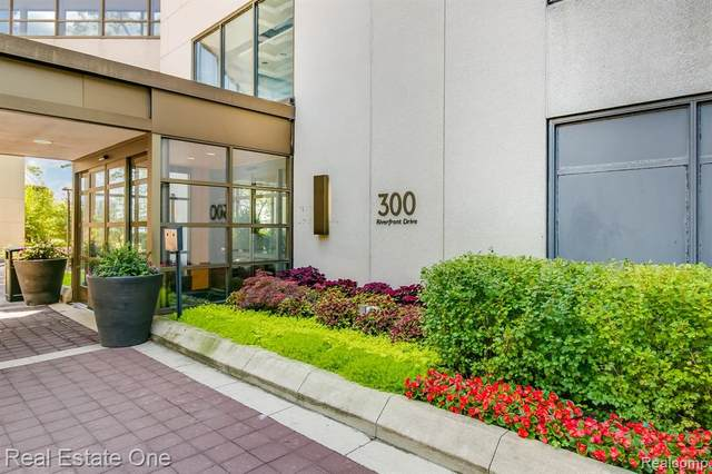 1001 W Jefferson Ave # 300/4B, Detroit, MI 48226 (#2210006720) :: BestMichiganHouses.com