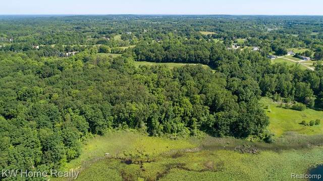 00000 Parker Lane, Brandon Twp, MI 48462 (#2210007299) :: Robert E Smith Realty