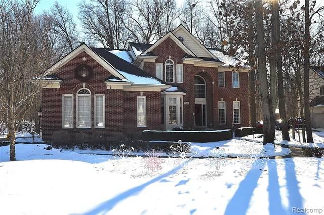 7201 W South Oak Court, West Bloomfield Twp, MI 48323 (#2210007667) :: Duneske Real Estate Advisors