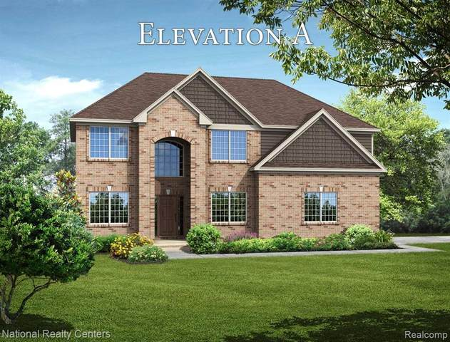 245 Fairway View, Oxford Twp, MI 48371 (MLS #2210008537) :: The John Wentworth Group