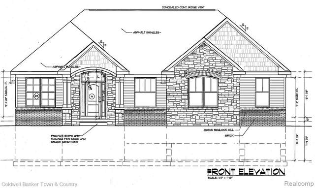 TBD Ashford St (Lot 25), Brighton Twp, MI 48114 (MLS #2210009692) :: The John Wentworth Group