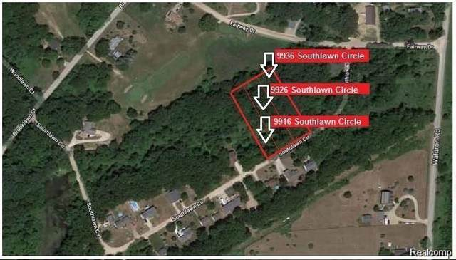 9926 Southlawn Circle, Somerset Twp, MI 49249 (MLS #2210009974) :: The Toth Team