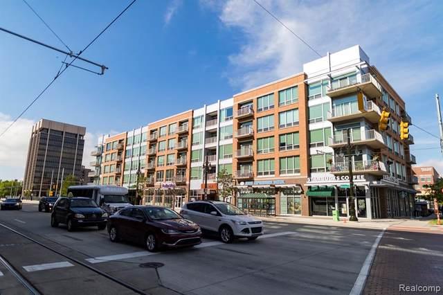 3670 Woodward Avenue #501, Detroit, MI 48201 (#2210010141) :: The Alex Nugent Team | Real Estate One