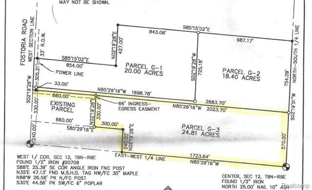 0000 Fostoria Road, Marathon Twp, MI 48464 (#2210010705) :: The BK Agency