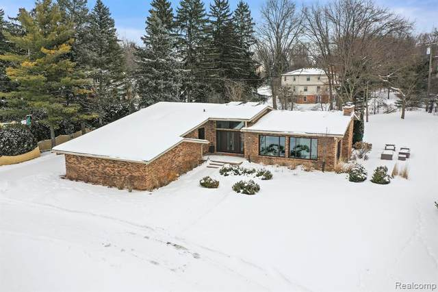 2805 Ayrshire Drive, Bloomfield Twp, MI 48302 (#2210010739) :: The Alex Nugent Team | Real Estate One