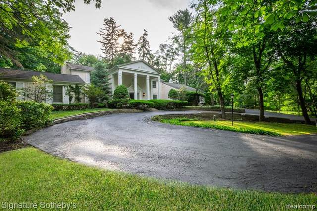 469 Goodhue Road, Bloomfield Hills, MI 48304 (#2210010926) :: The Merrie Johnson Team