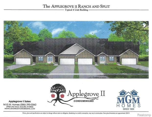 48270 Applegrove Lane #20, Chesterfield Twp, MI 48051 (#2210010997) :: BestMichiganHouses.com