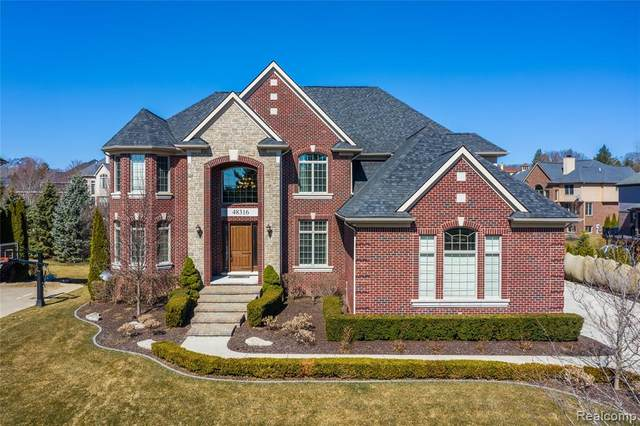 48316 Four Seasons Boulevard, Northville Twp, MI 48168 (#2210011012) :: Duneske Real Estate Advisors