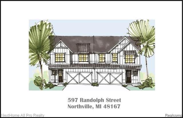 597 Randolph Street A, Northville, MI 48167 (#2210011108) :: GK Real Estate Team