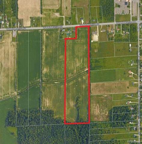 Parcel B W Mt Morris Road, Mt. Morris Twp, MI 48458 (MLS #2210011154) :: The Toth Team