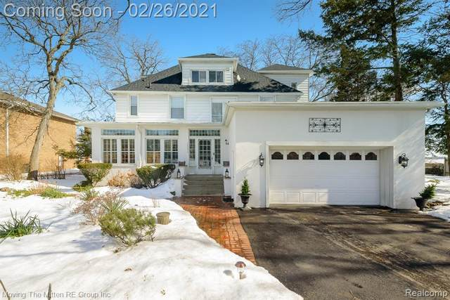 28059 Elba Drive, Grosse Ile Twp, MI 48138 (#2210011642) :: GK Real Estate Team