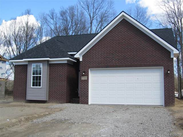 25881 King Road, Brownstown Twp, MI 48174 (#2210012085) :: The Mulvihill Group