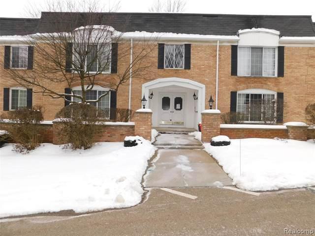 150 E Long Lake Rd #13, Bloomfield Hills, MI 48304 (#2210012393) :: RE/MAX Nexus