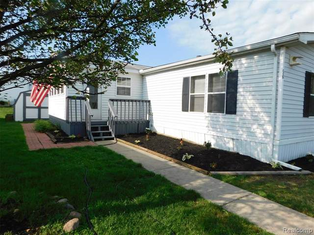 2500 Mann Rd #56, Independence Twp, MI 48346 (MLS #2210012534) :: The Toth Team