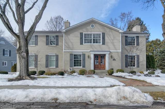 427 Yarmouth Road, Bloomfield Twp, MI 48301 (#2210012687) :: Alan Brown Group