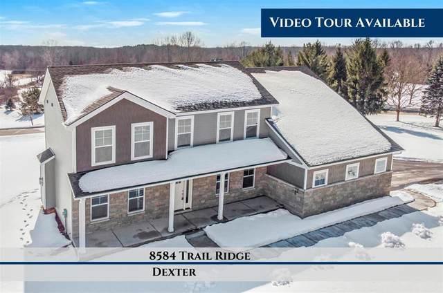 8584 Trail Ridge, Webster Twp, MI 48130 (#543279052) :: The BK Agency