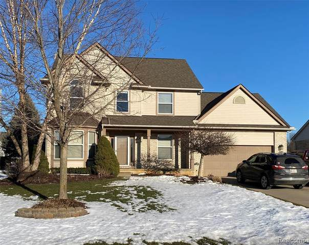25862 Carriage Lane, Lyon Twp, MI 48178 (#2210012786) :: Duneske Real Estate Advisors