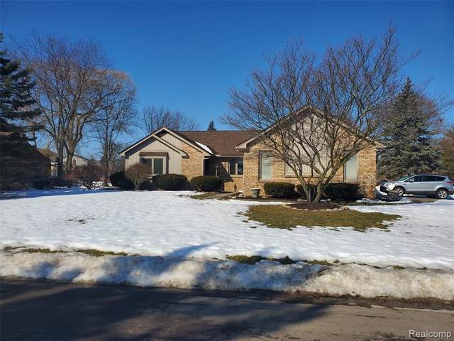 22267 S Heatherbrae Way, Novi, MI 48375 (#2210012841) :: Novak & Associates