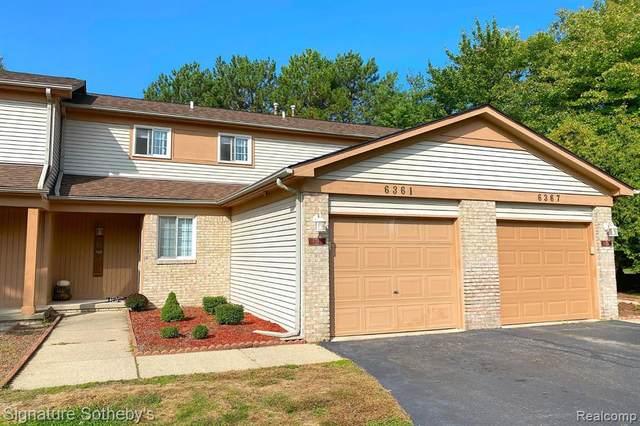 6361 Hunter Pointe Street #17, Westland, MI 48185 (#2210012923) :: Real Estate For A CAUSE