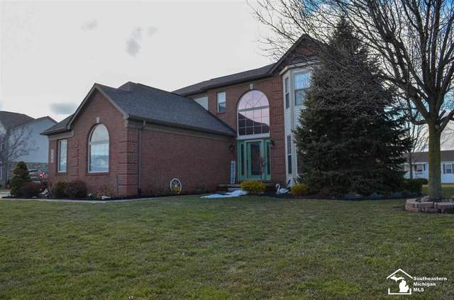116 Aberdeen Lane, Raisinville Twp, MI 48161 (MLS #57050035145) :: The John Wentworth Group