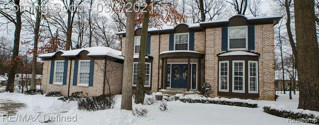 226 Grosse Pines Drive, Rochester Hills, MI 48309 (#2210013333) :: The Alex Nugent Team | Real Estate One