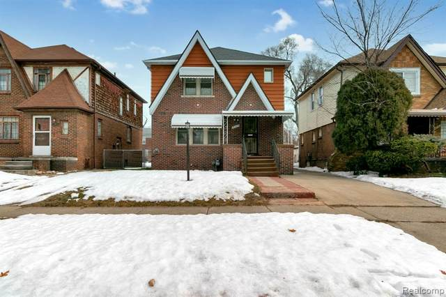 18224 Prairie Street, Detroit, MI 48221 (#2210013370) :: Novak & Associates