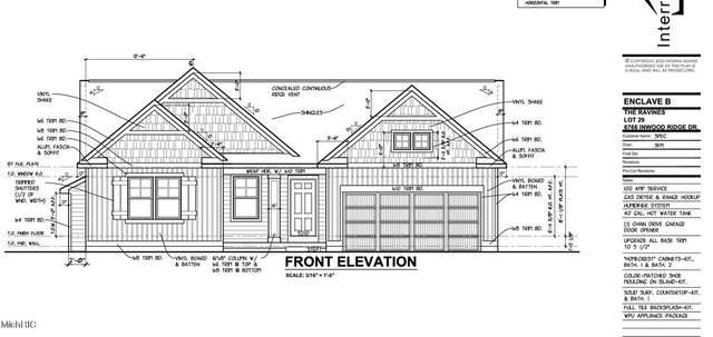 6766 Inwood Ridge Drive, PLAINFIELD TWP, MI 49341 (#65021006127) :: The Alex Nugent Team | Real Estate One