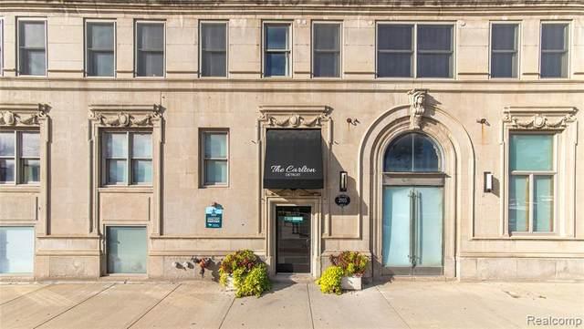 2915 John R St # 10, Detroit, MI 48201 (#2210013476) :: NextHome Showcase