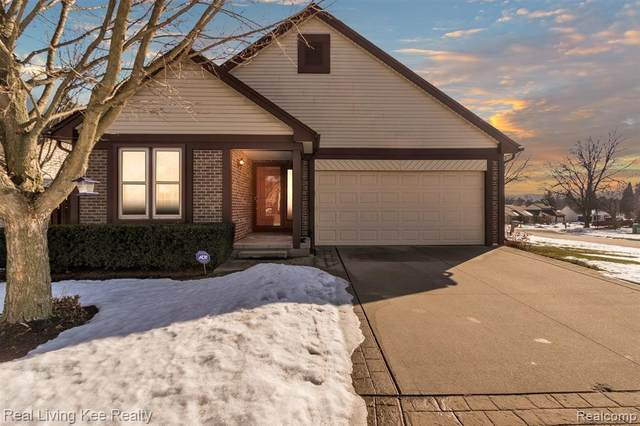 1558 Colony Drive, Rochester Hills, MI 48307 (#2210014142) :: Alan Brown Group