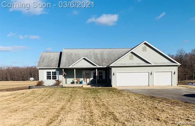1490 N House Road, Leroy Twp, MI 48892 (#2210014298) :: The Merrie Johnson Team