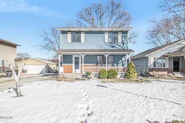 4730 Millhaven Drive SE, Kentwood Twp, MI 49548 (#65021006568) :: The Merrie Johnson Team