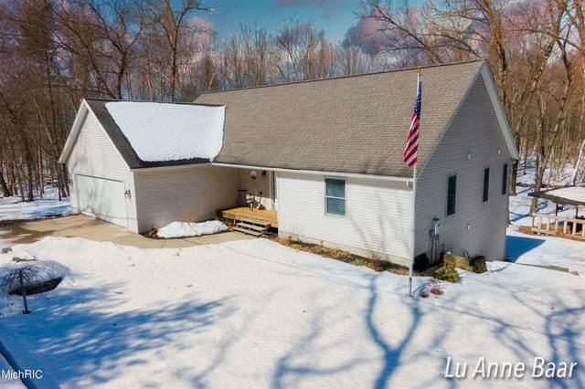 22826 W Wood Lake Road, Pierson Twp, MI 49339 (#65021006649) :: The Merrie Johnson Team