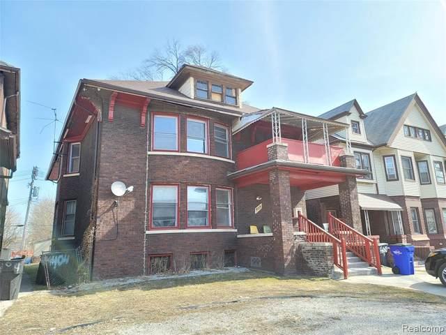 404 E Grand Boulevard, Detroit, MI 48207 (#2210015607) :: BestMichiganHouses.com