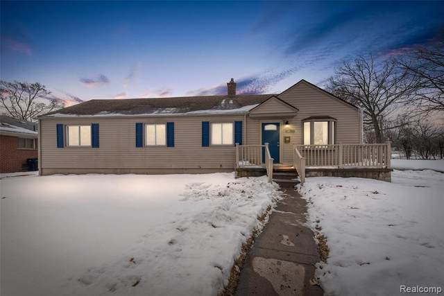 1697 Gregory Avenue, Lincoln Park, MI 48146 (#2210015826) :: Real Estate For A CAUSE