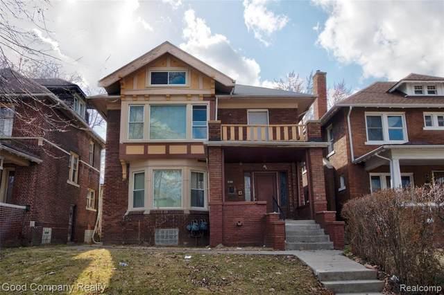 3439 Field Street, Detroit, MI 48214 (#2210016240) :: Keller Williams West Bloomfield