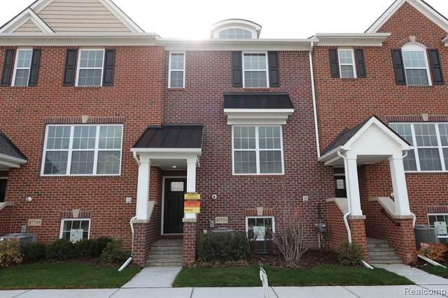 47753 Alden Terrace N #6, Northville Twp, MI 48168 (#2210016696) :: GK Real Estate Team