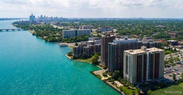 8200 E Jefferson Ave # 159 Avenue #1512, Detroit, MI 48214 (#2210016855) :: The Alex Nugent Team | Real Estate One