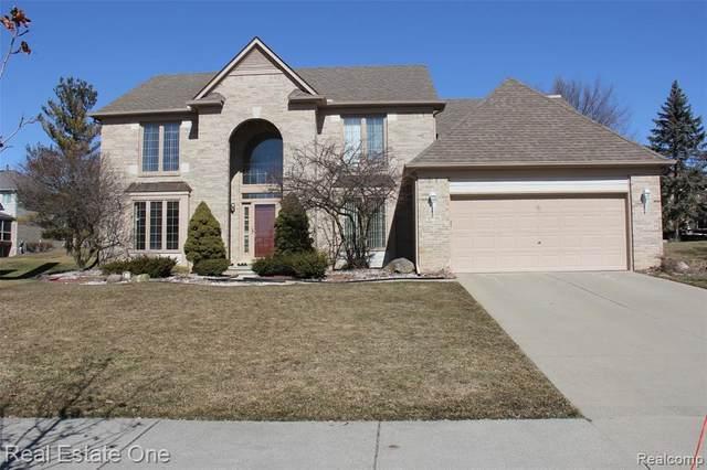 45740 Irvine Drive, Novi, MI 48374 (#2210017682) :: Duneske Real Estate Advisors