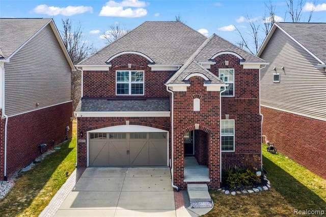 49661 Hartwick Drive, Novi, MI 48374 (#2210019002) :: Duneske Real Estate Advisors