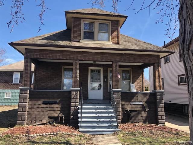 2309 3RD Street, Wyandotte, MI 48192 (#2210019500) :: Keller Williams West Bloomfield
