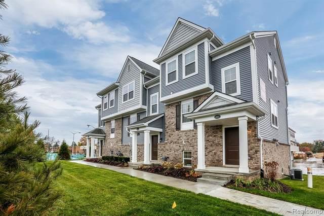 4962 Treeside Lane, Troy, MI 48098 (#2210019652) :: The Alex Nugent Team | Real Estate One