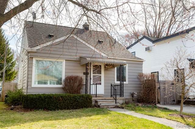 605 S Kenwood Avenue, Royal Oak, MI 48067 (#2210020144) :: GK Real Estate Team