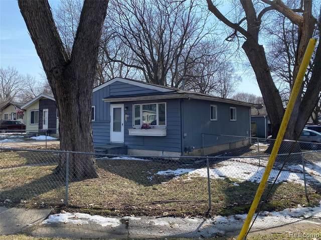 765 Stanley Avenue, Pontiac, MI 48340 (#2210020170) :: BestMichiganHouses.com