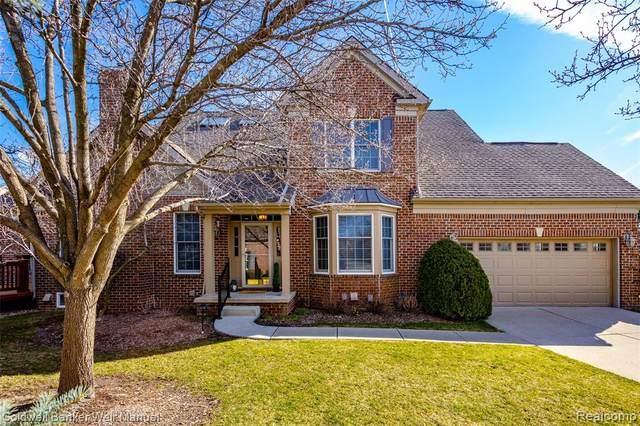 44854 S Broadmoor Circle S, Northville Twp, MI 48168 (#2210020588) :: Duneske Real Estate Advisors