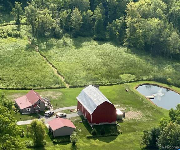 7124 E Pakes Road, Crystal Twp, MI 48818 (#2210020946) :: Real Estate For A CAUSE