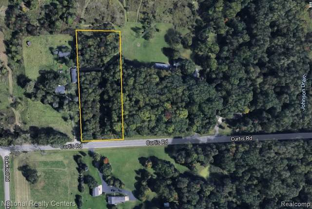 PARCEL A Curtis Road, Salem Twp, MI 48167 (#2210021326) :: GK Real Estate Team